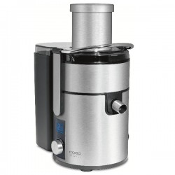 Storcator de fructe Caso PJ1000, 800W, 2.5 l, 4 setari de viteza, inox