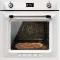 Cuptor incorporabil Smeg Victoria SFP6925BPZE, electric, multifunctional, 60cm, sticla alba, pizza, piroliza