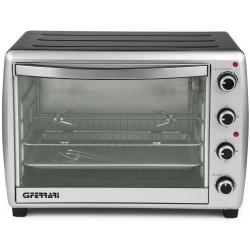 Cuptor electric G3Ferrari Argenticook 66 G10043, 2200W, 66L, 230 grade, rotisor, grill, timer, argintiu/negru