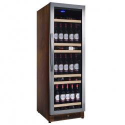 Vitrina de vinuri Nevada Wood NW158S-SSW, 158 sticle, lemn wenge