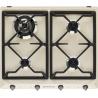 Plita incorporabila Smeg Victoria SR964NGH, 60 cm, plita gaz, 4 arzatoare, sistem siguranta Stop-Gaz, negru