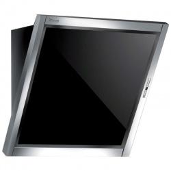 Hota design Baraldi Amy Plus 01AMYPLU060STB80, 60 cm, 800 m3/h, sticla neagra/inox