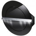 Hota design Baraldi Zen 01ZEN80BB90, 80 cm, 900 m3/h, sticla neagra/inox
