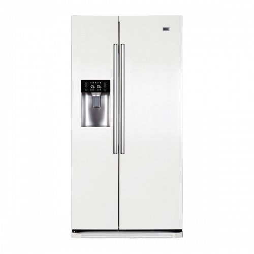 Side by Side Haier HRF-628IW6, 550 l, Clasa A+, No Frost, H 190 cm, Alb