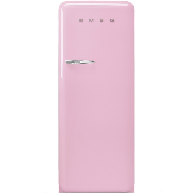Frigider cu 1 usa SMEG FAB28LRO1, No Frost, Clasa A++, 222L, roz