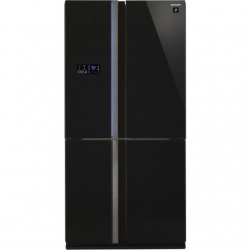 Side by side SHARP SJEX820FBE, 605l, Clasa A++,Hybrid Coolinng System, bej