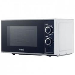 Cuptor cu microunde si grill Haier HGN-2070MG, 700 W, 900 W, 20 L, alb
