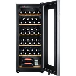 Vitrina de vin Haier WS59GAE, A, 167 kWh/an, 59 de sticle, negru