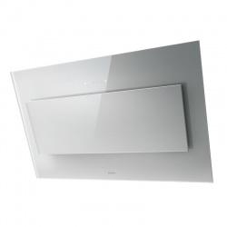 Hota decorativa Elica VertigoWH/A/120, 120 cm, 691 m3/h, sticla alba