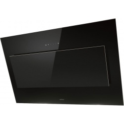 Hota decorativa Elica VertigoBL/F/120, 120 cm, 691 m3/h, sticla neagra