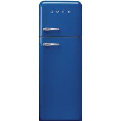 Frigider 2 usi Retro SMEG FAB30RBL1, Clasa A++, 229L, albastru
