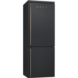 Combina frigorifica SMEG FAB32RRN1, No Frost, Clasa A++, 304L, rosu
