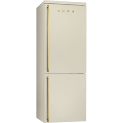 Combina frigorifica SMEG Coloniale FA8003AO, No Frost, Clasa A+, 356L, negru antracit