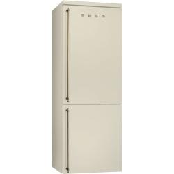 Combina frigorifica SMEG Coloniale FA8003P, No Frost, Clasa A+, 356L, crem