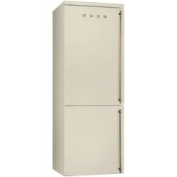 Combina frigorifica SMEG Coloniale FA8003PO, No Frost, Clasa A+, 356L, crem