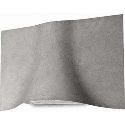 Hota decorativa Faber Veil Tibetan Silver A90, 90 cm, 700 m3/h, finsiaj argint tibetan