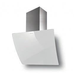 Hota decorativa Faber Versus BK A80, 80 cm, 580 m3/h, inox / sticla neagra