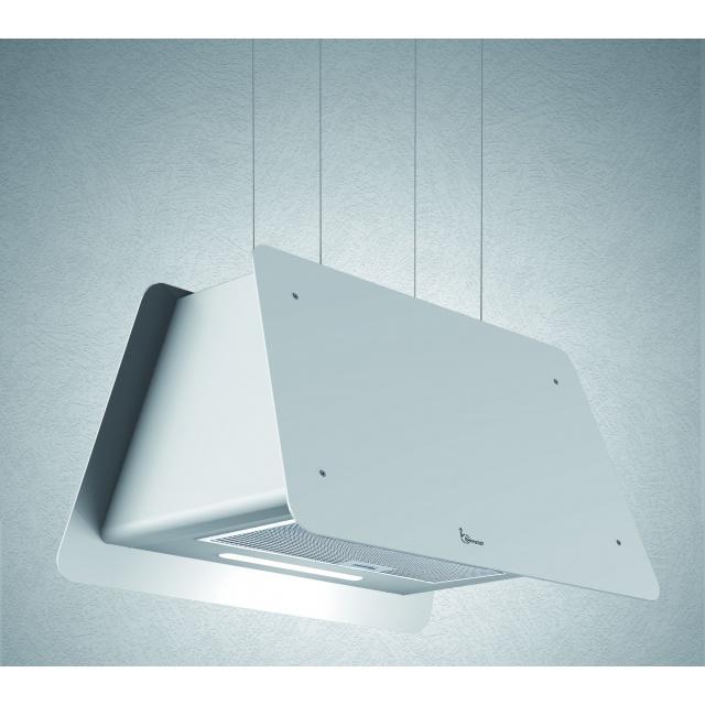 Hota design suspendata Baraldi Lady 01LAD070WH80, 70 cm, 800 m3/h, alb