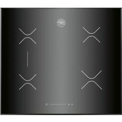 Plita incorporabila Bertazzoni Design P905INE, 90 cm, plita inductie, 5 zone gatit, sticla ceramica neagra