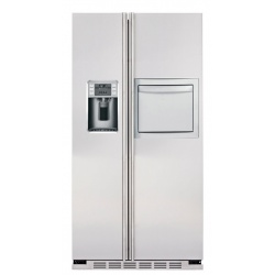 """Side by side IOMABE Luxury """"K"""" Series ORE24CHF80, minibar, clasa A+, 572 l, No Frost, Inox"""