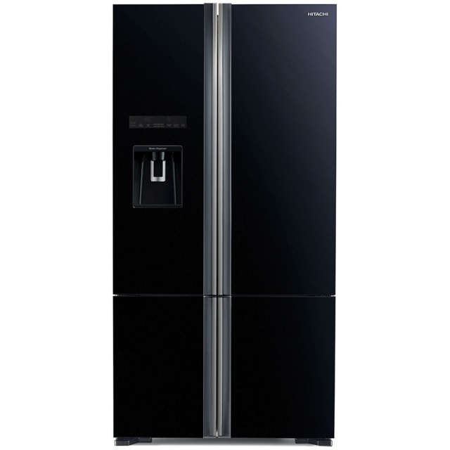 Side by Side Hitachi R-WB730PRU6X(GBK), 590L, clasa A++, Inaltime 183.5 cm