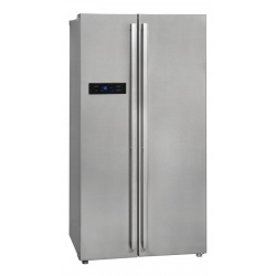 Side by Side Exquisit SBS530-3A, Clasa A++, 527L, No Frost, inox
