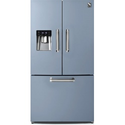 Side by Side Steel Genesi GFR9F , Clasa A+, 536L, No Frost, Dispenser Apa, Twist Ice Maker, visiniu