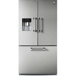 Side by Side Steel Genesi GFR9F , Clasa A+, 536L, No Frost, Dispenser Apa, Twist Ice Maker, inox