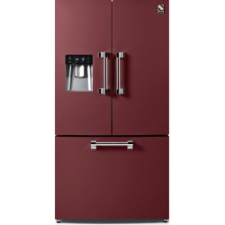 Side by Side Steel Ascot AFR9F , Clasa A+, 536L, No Frost, Dispenser Apa, Twist Ice Maker, negru antracit
