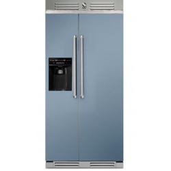 Side by Side Steel Genesi GFR9 , Clasa A+, 543L, No Frost, Dispenser Apa / Gheata, visiniu
