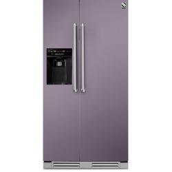 Side by Side incorporabil Steel Genesi GFRB9 , Clasa A+, 543L, No Frost, Dispenser Apa / Gheata, albastru deschis