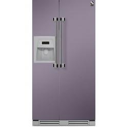 Side by Side incorporabil Steel Ascot AFRB9 , Clasa A+, 543L, No Frost, Dispenser Apa / Gheata, inox
