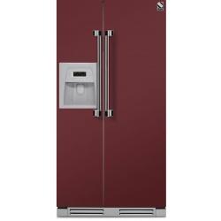 Side by Side incorporabil Steel Ascot AFRB9 , Clasa A+, 543L, No Frost, Dispenser Apa / Gheata, negru antracit