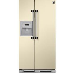 Side by Side incorporabil Steel Ascot AFRB9 , Clasa A+, 543L, No Frost, Dispenser Apa / Gheata, albastru deschis