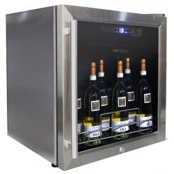 Vitrina de vinuri Vinum Design Clasic VD19SMC2, 19 sticle, 1 zona temperatura, albastru