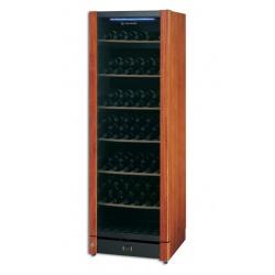 Vitrina de vinuri Tecfrigo Wine 185, 197 sticle, 1 zona temperatura, argintiu