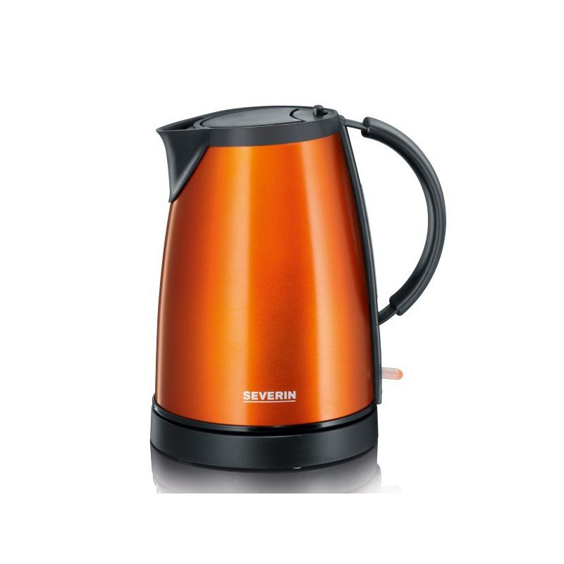 Ceainic Severin Wk 9736,1350W,1 l,orange metalizat/negru