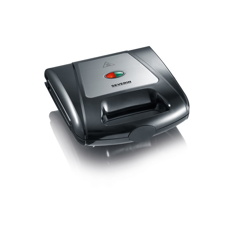 Multi-Sandwich toaster maker Severin 2968,1000W,3placi,negru/crom