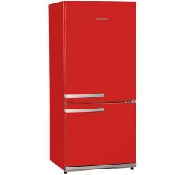 Combina frigorifica Severin KS9776,A ++, frigider 173 l,congelator 54 l,rosu