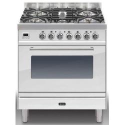 Aragaz ILVE Profesional line P80, 80X60cm, 5 arzatoare, cuptor electric, timer, aprindere electronica, negru mat