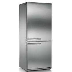 Combina frigorifica Severin KS9877,A ++,frigider: 210 L / congelator: 88 L,oțel inoxidabil