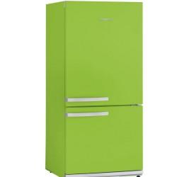 Combina frigorifica Severin KS9897,A ++,179 kWh /an,congelator 54 l/frigider 173 l,verde