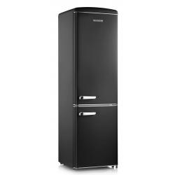 Combina frigorifica Severin Retro RKG 8920, Clasa A++, 188 KWh/an, 255L, rosu