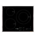 Plita cu inductie incorporabila Fagor IF-3BX, 7200 W, 3 zone de gatit, negru