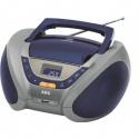 Radio casetofon cu cd, AEG SR 4358 , Blue