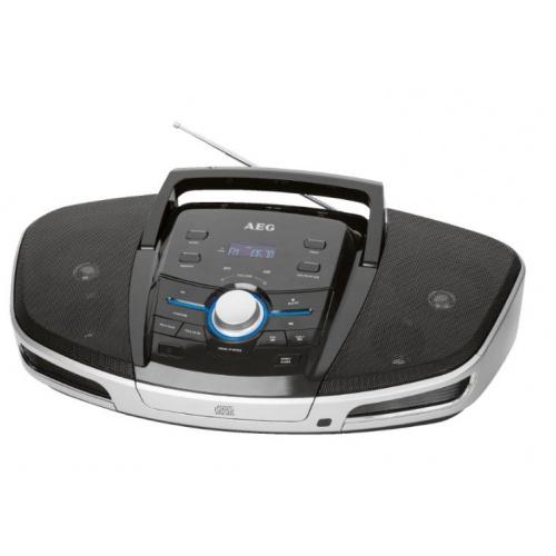 Radio stereo cu cd, AEG SRP 4354 Bluetooth, Black