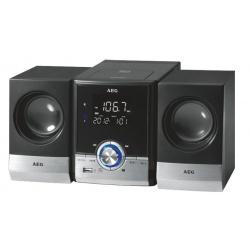 Radio stereo cu cd, AEG MC 4461, Black