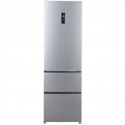 Combina Frigorifica Haier A2FE635CSJ, 347 l, Clasa A+, No Frost, H 190 cm, Argintiu