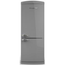 Combina Retro Bompani BOCB740/G, Clasa A+, 415 litri, Latime 70 cm, Gri