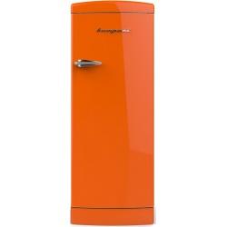 Frigider cu o usa Retro Bompani BOMP112/A, Clasa A++, 275 litri, Latime 60 cm, Portocaliu